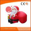 Santa gonflable géante extérieure personnalisée pour le Joyeux Noël H1-001