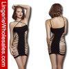Fishnet atractivo Bodystocking de la ropa interior negra de las mujeres