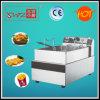 Df-E01 un friteuse électrique de panier du réservoir un avec la protection contre la chaleur finie