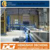 機械を作っているギプスの乾式壁の製造工程または石膏ボード
