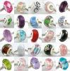 25PCS Lampwork Glass Beads per Charm Bracelet (MM02)