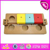 Il migliore pellame interattivo dell'alimentatore degli animali domestici - e - ricerca gioca i giochi di legno del cervello per i cani W06f042