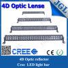 50 '' barre optique d'éclairage LED de réflecteur de 288W 4D