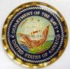 エポキシのコーティング集合的な海軍硬貨の金属のギフトのクラフト(JINJU-0081)