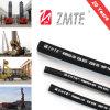 Stahldraht-umsponnener hydraulischer industrieller Gummischlauch SAE-100r2at