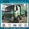 HOWO 덤프 트럭 8X4 25-30m3 12 짐수레꾼 쓰레기꾼 트럭