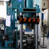 Auto máquina e logotipo de perfuração do furo que fazem a máquina com os braços mecânicos para a linha da fabricação do cilindro de gás do LPG