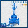 Didtek 18 válvula de puerta del acero de aleación de la pulgada Wc6 con la válvula de derivación