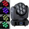 클럽 LED RGBW 4in1 Moving Head Stage Light