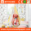 Papier peint de papier pur pour la pièce d'enfants