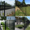 Polvere Coated Wrought Iron Fence da vendere