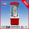 LED와 Music를 가진 눈이 내리는 Christmas Decoration Cute Snowman Inside