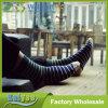 Calcetines rayados de los hombres largos opcionales Antis-Pilling del color multi