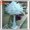 Albero artificiale bianco del Ficus della vetroresina dell'interno della decorazione