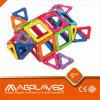 Juguetes del rompecabezas de Magplayer 3D creativos/sistema magnético fresco del edificio