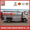 Caminhão pequeno Rhd do petróleo de Bowser 5t do petróleo de Cbm do caminhão de petroleiro 6 do combustível