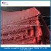 Rete metallica unita dello schermo di colore rosso per esportare