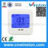 Bildschirmanzeige-programmierbarer Raum-Thermostat des Fußboden-Heizungs-Wasser-Heizsystem-LCD