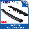 Nieuwe 4D Single Row 250W CREE LED Light Bar