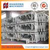 Haltbarer Rollen-Halter, linearer Stahlruhm, Bandförderer-Rollen-Rahmen