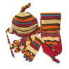 Установленные шлем, шарф и перчатка ватки (JRG010)