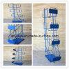 Armoire d'affichage de bruit, armoire d'exposition en métal, armoire d'affichage en métal (RACK-07)