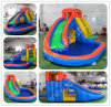 Castle Bouncy Inflatable, Inflatable Slide com CE, Bouncy Slide com Water Pool B4115