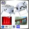 Stadium Uplight Equipment 6PCS RGBWA UV 6 In1 LED PAR Can Lights LED PAR Zoom Stage Light