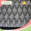 Tela africana del cordón de paño de tabla de la venta al por mayor de la tela del cordón suizo del guipur
