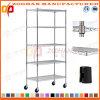 Justierbares Haus-Büro-Speicher-Draht-Fach-System mit Rädern (Zhw64)