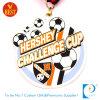 Медаль металла футбола или футбола переходящего кубка компании поставкы в эмали