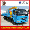 Caminhão de um Dongfeng de 2 toneladas mini com guindaste (crescimento telescópico)