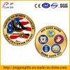 As forças armadas feitas sob encomenda do logotipo do injetor dos EUA desafiam moedas