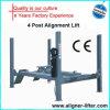 Four usato Post Car Lift con Alignment Jack