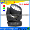 diodo emissor de luz Zoom Beam Moving Head Light de 19PCS 12W Osram (SF-120)