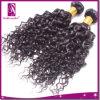 小売商のためのDyebleの巻き毛の波の人間の毛髪