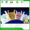 Sac de empaquetage d'achats en plastique de T-shirt de sac de gilet de HDPE