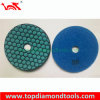 Granite Marble/Concrete를 위한 7 단계 Dry Polishing Pad Diamond Tools