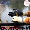 Nmsafety отрезало перчатку работы упорного нитрила пены 4 покрытую