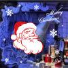 بلاستيك ب تمسّك عطلة نافذة عيد ميلاد المسيح جدار لاصقات [سنتا] كلاوس
