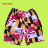 Il cotone all'ingrosso mette gli Shorts in cortocircuito casuali di /Custom di Shorts della spiaggia degli uomini