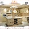 N及びL贅沢な台所家具のかえでの純木の食器棚(ZS-812)