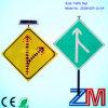 Señal de tráfico solar del aluminio LED/muestra de camino solar/señal de peligro