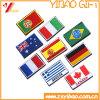 깃발 패치의, 길쌈된 패치, 자수 패치, 자수 기장, 학교 패치 (YB PH PH 425)