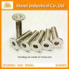 Surtidor de oro Ss 316 del acero inoxidable tornillos de socket principales planos del 1/2
