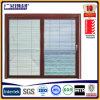 Guichet d'aluminium et de tissu pour rideaux d'oscillation de porte avec des lames