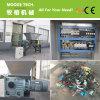 Máquina plástica Waste do Shredder para recicl a linha