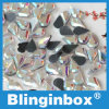 Rhinestone Fix Ab DMC кристалла формы Teardrop Oleeya малый горячий