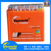 Batterie orange de moto de gel de cadre de gel de la batterie 12V 9ah de moto