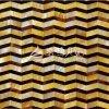 Disegni sulle mattonelle di mosaico madreperlacee delle coperture